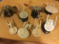STAR TREK SHIPS Small £3 each