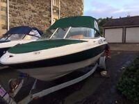 Maxum 1900 SR Bowrider Speed Boat