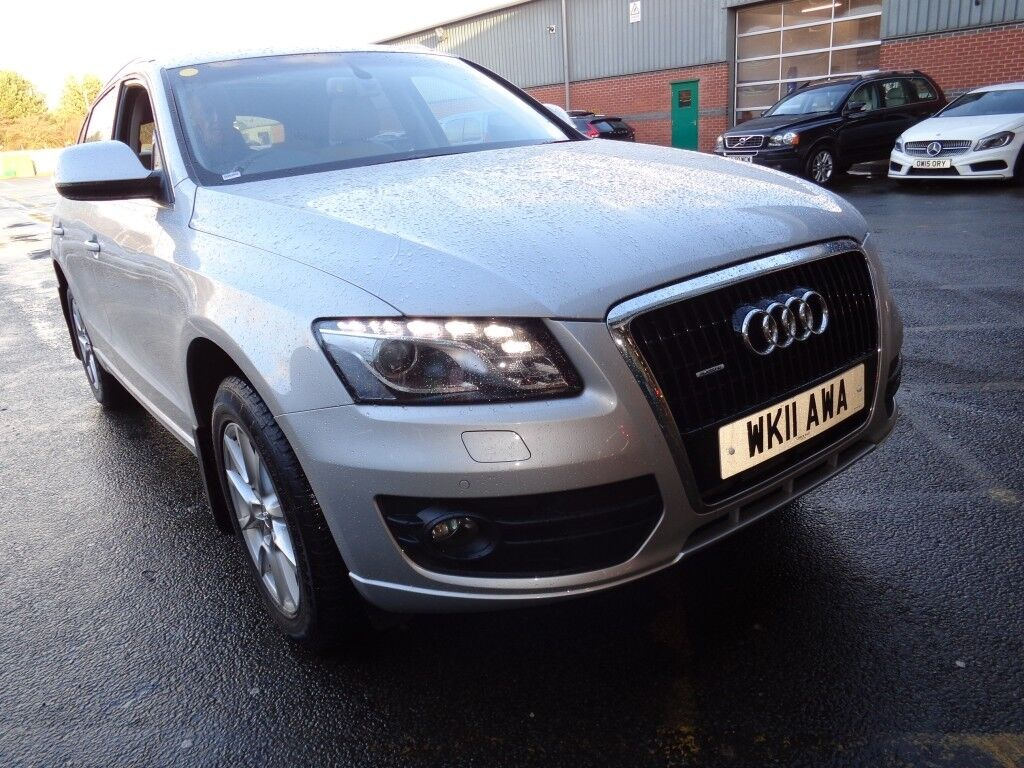 AUDI Q5 3 0 Tdi Quattro Se [Over 15,700 of Factory Upgrades] 5dr S Tronic  Auto (silver) 2011 | in Winsford, Cheshire | Gumtree
