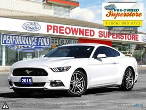 2015 Ford Mustang EcoBoost***PREMIUM LEATHER, NAV, ECOBOOST***