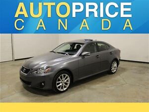 2013 Lexus IS 250 Base MOONROOF|LEATHER|AWD