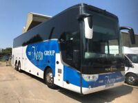 COACHES AND BUSES FOR SALE. MAKES- MERCEDES-BENZ, SETRA, VAN HOOL, VOLKSWAGEN, VDL, SEATS 16-53.