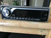 JVC headunit/cd player/car stereo