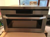 AEG built-in compact oven KB9810E-M