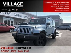2012 Jeep WRANGLER UNLIMITED Sahara Actic Eidition Bluetooth TOW