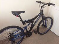 Dunlop sport mountain bicycle for sale £35 + lock £3