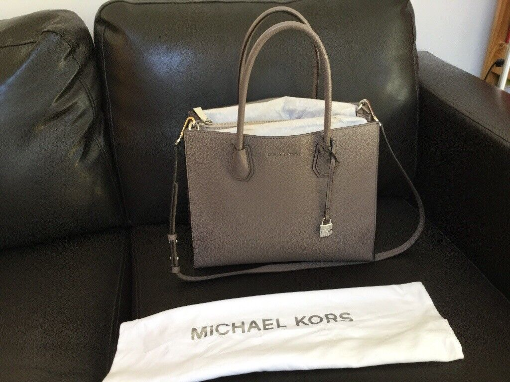 Genuine Michael Kors Mercer Large Leather Tote  293bf497ea83a