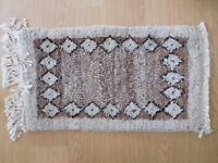 Brand New 100% pure wool rug from Ethiopia