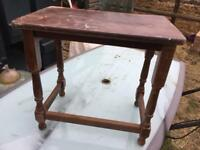 Old style small table