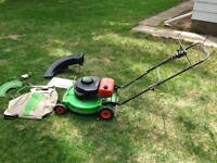 **Lawn-boy commercial mower & accessories**