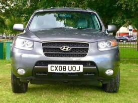 Hyundai Santa Fe 2.2 CRTD CDX Station Wagon 5dr MOT Till Sep 2018 No Advisories p