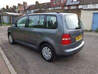 2005 Volkswagen Touran 1.6 FSI S 5dr 7 Seats Manual @07445775115 1 Owner+2Keys+7 Seater+Warranty+HPI