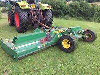 2010 Major 18000GR Trailed Batwing Mower 5.4 meter/ 18 feet cut for tractor