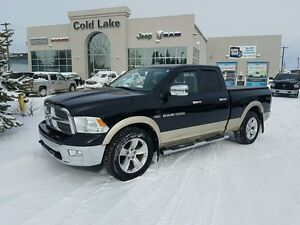 2011 Ram 1500 LEATHER/DVD ONLY 264 B/W!
