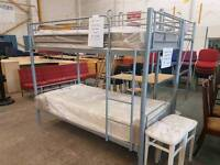 Brand new metal bunk bed frames (mattresses sold seperately)