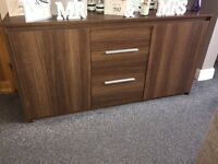 3 piece set .. tv cabinet .. side board .. little cabinet .. has a few wear marks on need gone ASAP