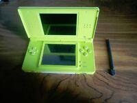 Green Nintendo DS Lite