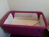 Chicco Next2me Side Sleeping Crib- Fuschia Limited Edition