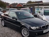 06 REG BMW 320 CD COUPE LONG MOT FULL SERVICE HISTORY P-X WELCOME