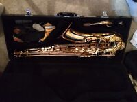 Rosdale tenor saxophone,used condition but well looked after.