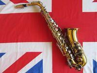 Vintage Champion B & M Brass Saxophone