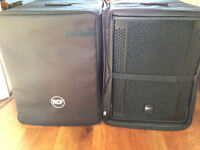 RCF 702 AS II Subs with bags