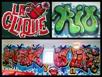 GRAFFITI ARTIST FOR HIRE GRAFFITI BEDROOMS & MURALS GLASGOW EDINBURGH