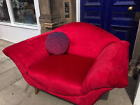 Modern Love Seat - Excellent Condition - Must be seen.... Size W 63in x D 38in. Free Local Delivery