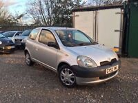 Toyota Yaris 1.0 VVT-i 16v GS 3dr, 1 YEAR MOT. HPI CLEAR. IDEAL FOR NEW DRIVERS. MUST SEE
