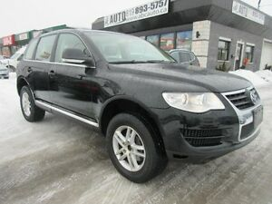 2009 Volkswagen Touareg 2 Execline (Beige Leather, AWD, Sunroof,