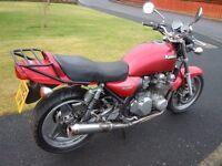 1991 Kawasaki Zephyr 750 - Running - Needs two small repairs - Future Classic - May swap for van