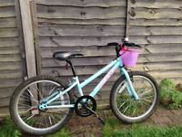 Girl's bicycle - 20'' wheels - 5 to 8 years old