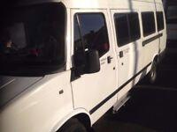 Ldv 17 seater minibus White