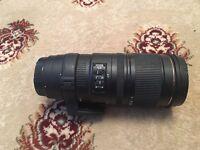 Canon Sigma Lens 70-200mm f2.8