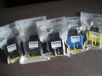 BROTHER INK LC900 CARTRIDGES X 5. SEALED and UNUSED.