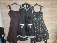 1950's Swing Dresses, worn once