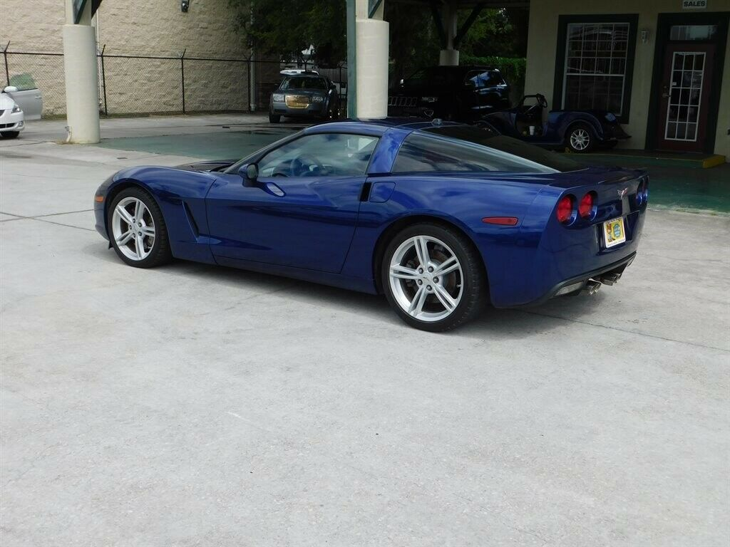 2005 Blue Chevrolet Corvette   | C6 Corvette Photo 5