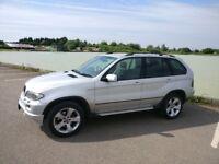 2004 BMW X5 3.0d M Sport Auto FACE LIFT SAT NAV VERY CLEAN CAR Full History TV, LONG MOT