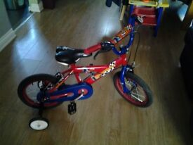 Childs bicycle for sale hardly used