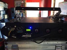 laserworld pro 2500 rgb proline