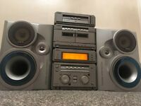 Sony 5 disc hifi 250 watts with kevlar speakers