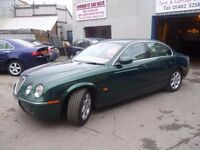 Jaguar S-TYPE SE,twin turbo diesel 4 dr saloon,Sports Auto,FSH,full MOT,full cream leather interior
