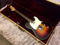 Squier Classic Vibe Custom Telecaster with Tweed Case