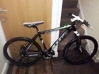 TTGO mountain bike with 26 wheel size
