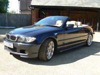 BMW E46 320Ci SPORT CONVERTIBLE FSH SUPERB UNMOLESTED EXAMPLE