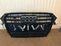 Audi B8.5 S4 black edition front grill for sale  Aberdeen