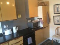 flat share in barnton area in a first floor fully furnished flat. single room available.