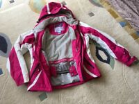 Women's ski jacket worn for one trip only as new