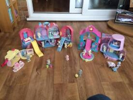 Tatty teddy playhouse,s and figures