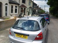 Honda Civic, Auto,Silver, Sunroof, Very clean in and out, Excellent drive, Electric window